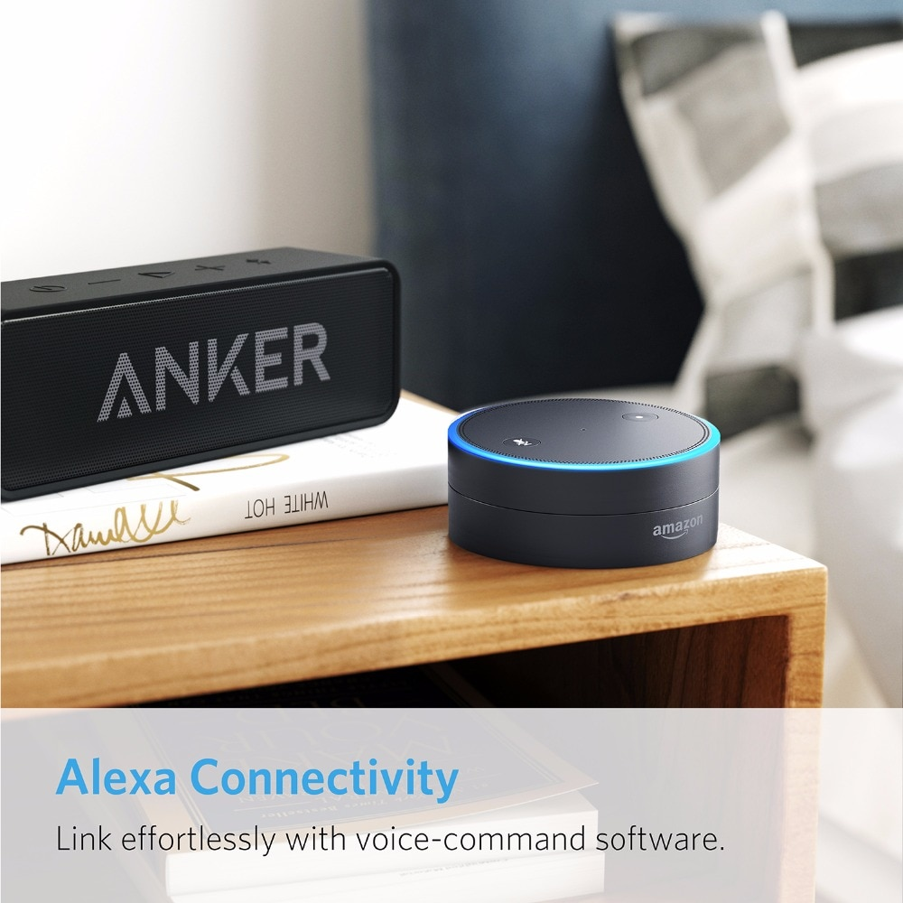 Anker SoundCore Portable Bluetooth Speaker with Dual-Driver