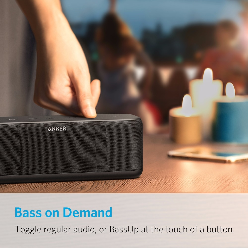 Anker SoundCore Boost 20W Bluetooth Speaker with BassUp Technology
