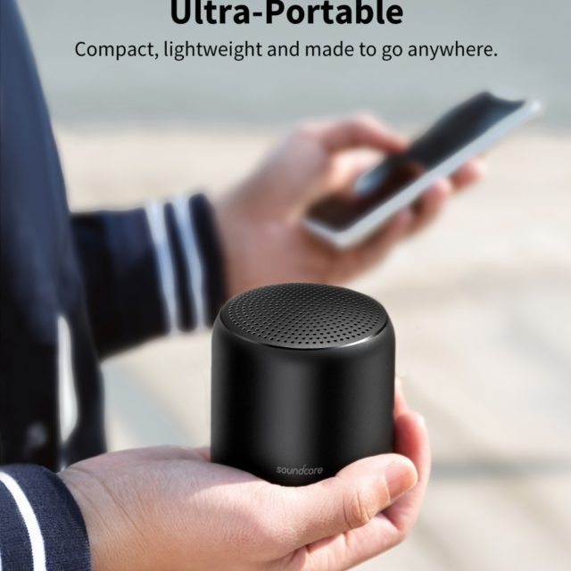 Anker Soundcore Mini 2 Pocket Bluetooth IPX7 Waterproof Outdoor Speaker Powerful Sound with Enhanced Bass 15H Playtime