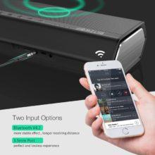 BlitzWolf 40W 5200mAh Double Driver Portable Wireless Bluetooth Speaker