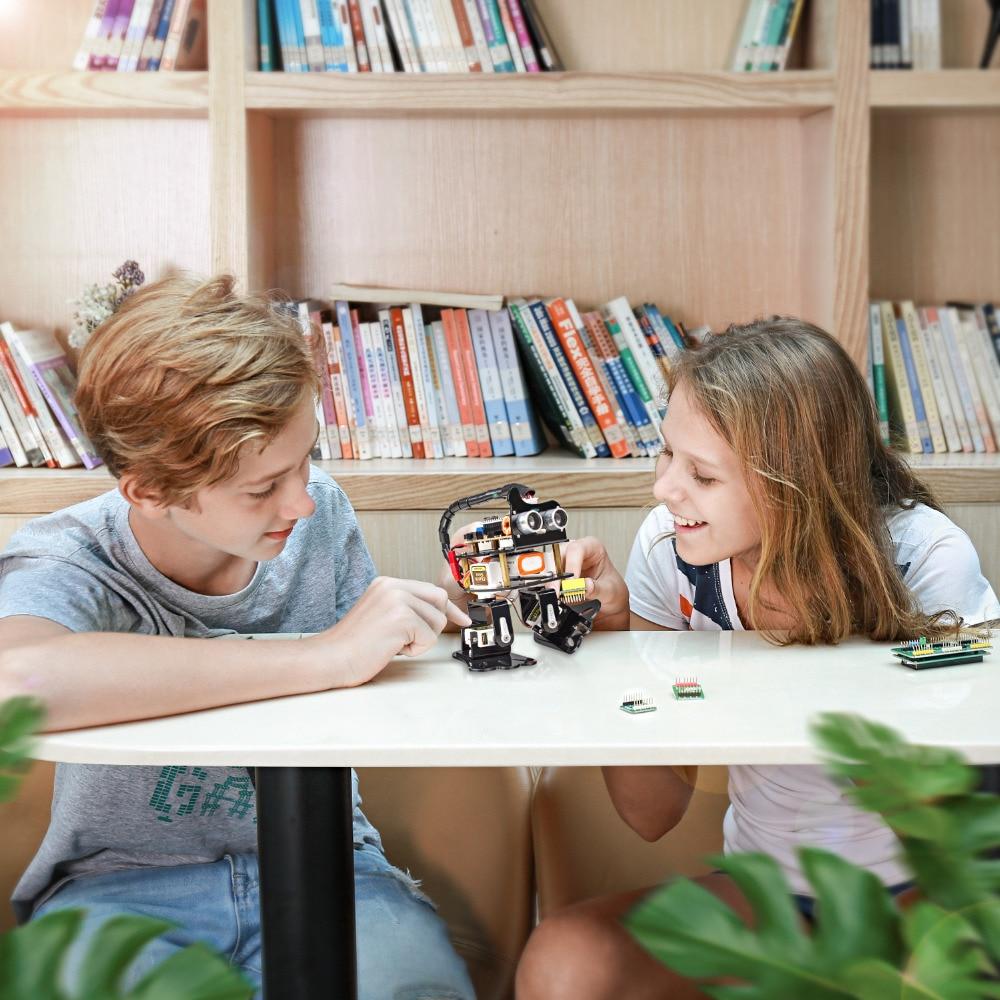 SunFounder DIY 4-DOF Robot Kit -Sloth Learning Kit for Arduino Nano