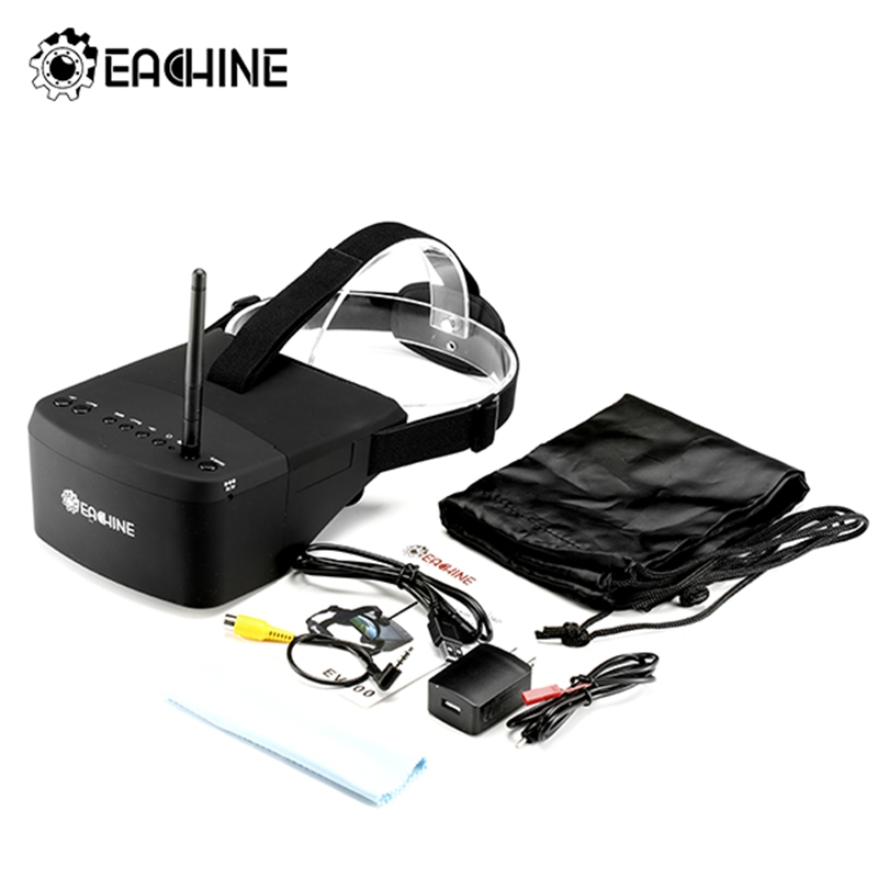 Eachine EV800 5 Inches 800x480 FPV Video Goggles 5.8G 40CH Raceband Auto-Searching Build In Battery FPV Part