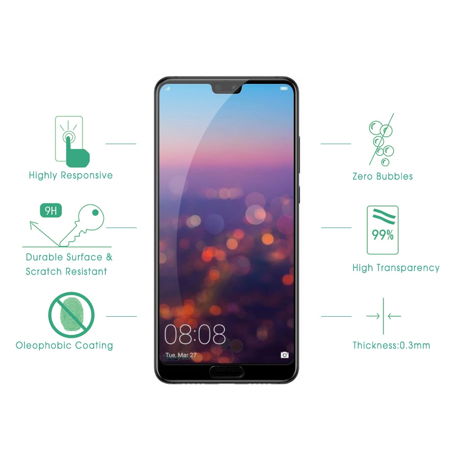 Seyisoo Premium Screen Protector For Huawei P20/Pro