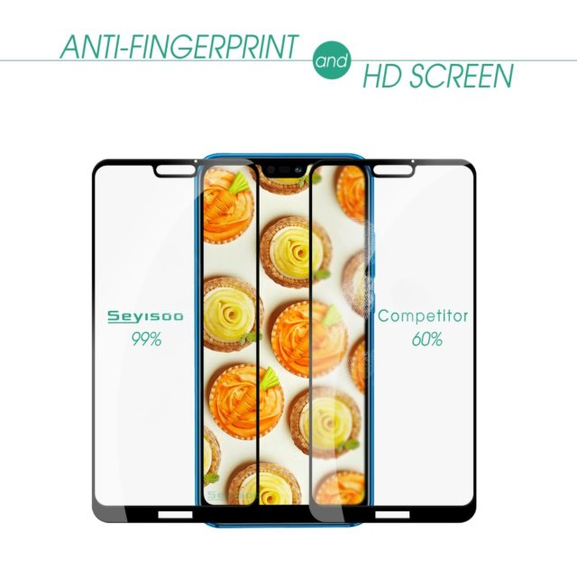 Seyisoo Screen Protector For Huawei P20 Lite