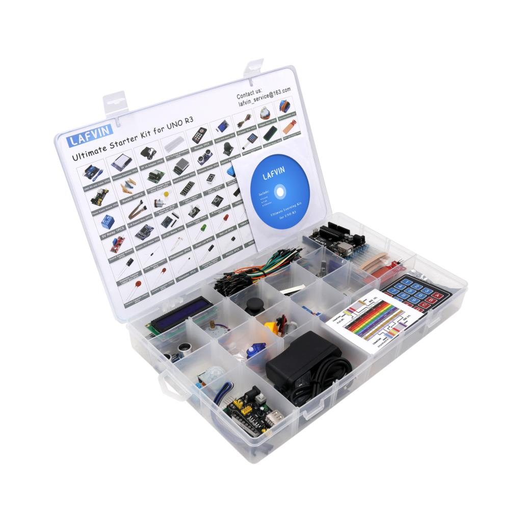 LAFVIN Ultimate Starter Kit for Arduino UNO R3 with Tutorial