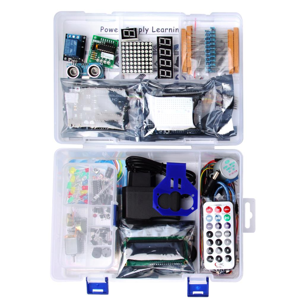 LAFVIN Power Supply Learning Kit for UNO R3 Project