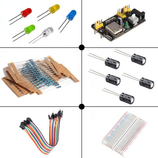 LAFVIN Electronic Component Basic Kit for Arduino Mega Nano