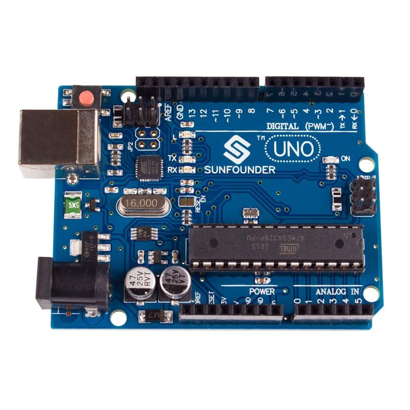 SunFounder Control Board for Arduino UNO R3 ATMEGA328P, ATMEGA16U2