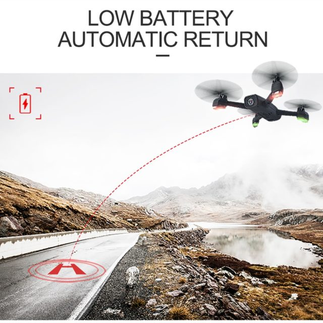 JXD 528 GPS Follow Me FPV Remote Control Quadcopter