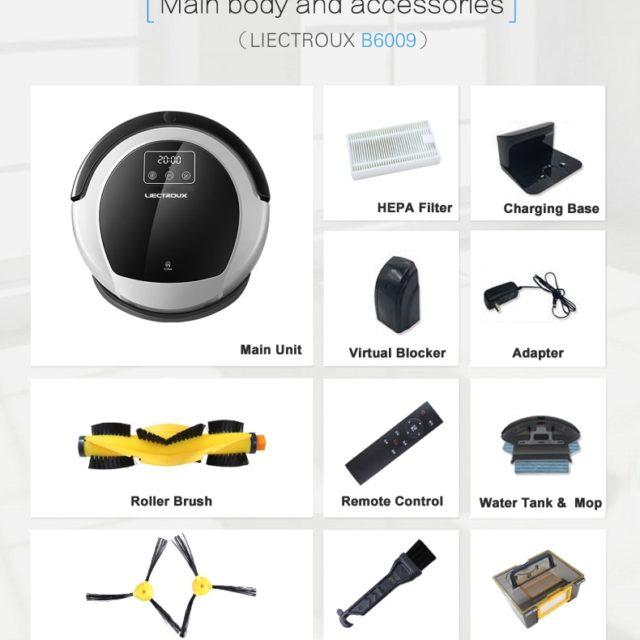 LIECTROUX B6009 Robot Vacuum Cleaner