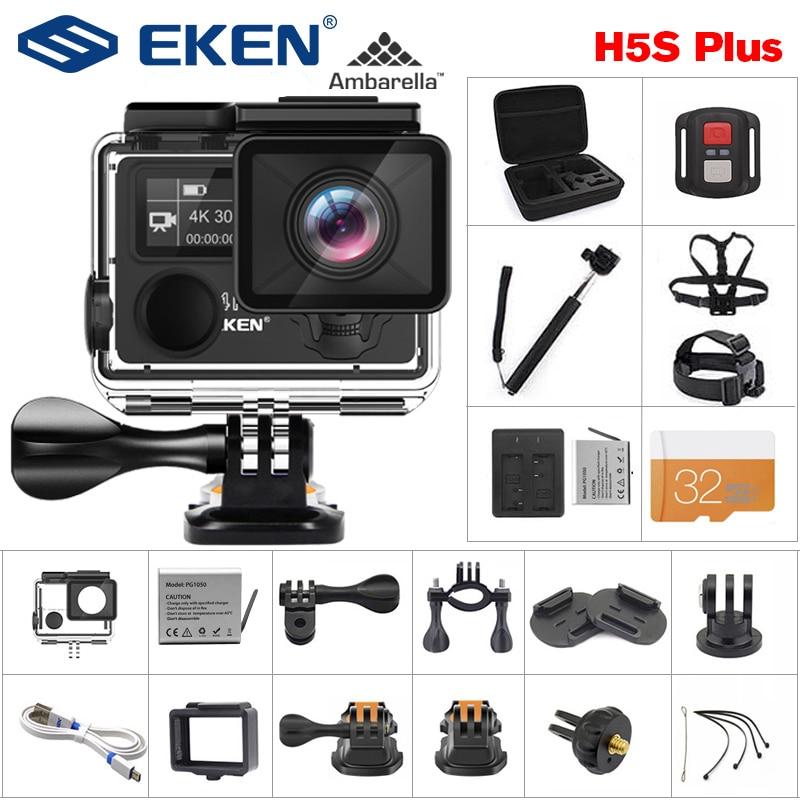 EKEN H5S Plus HD 4K 30fps EIS Action Camera
