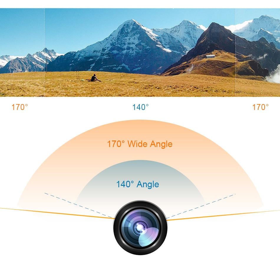EKEN H9 Action Camera Ultra HD 4K