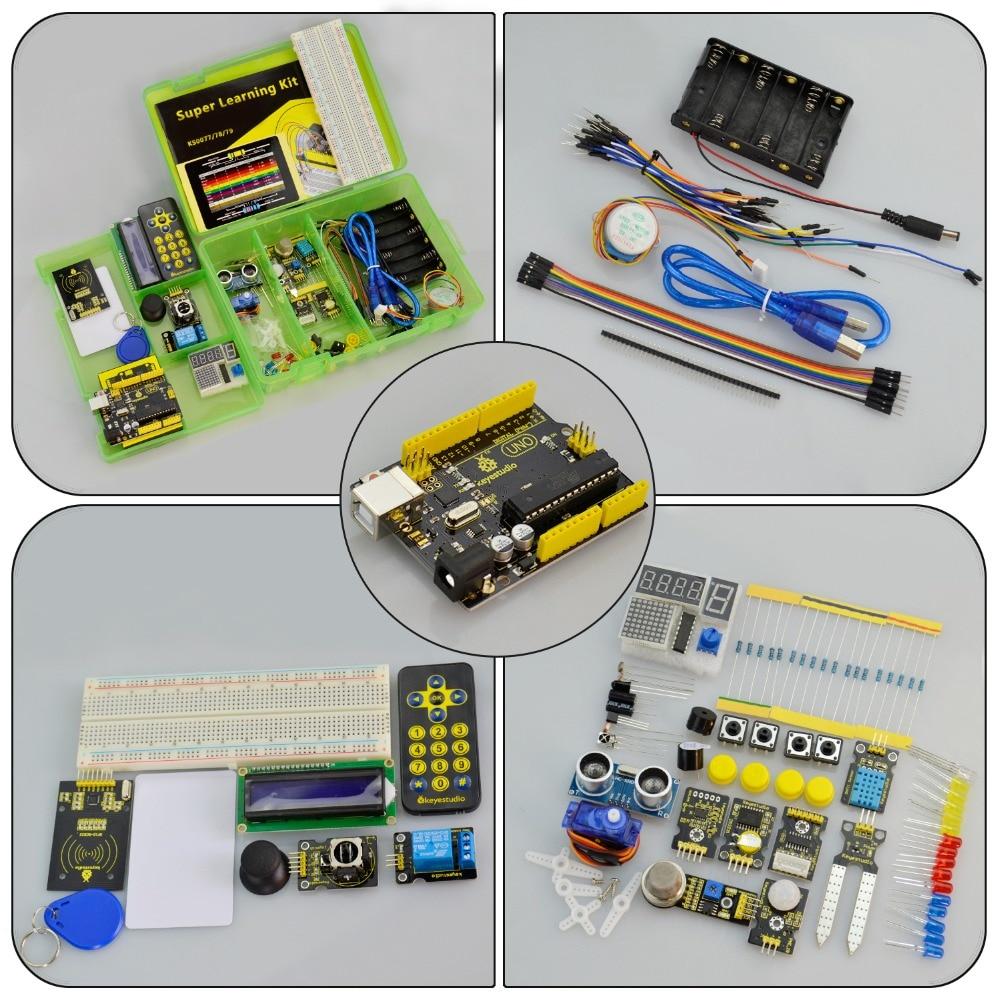 Keyestudio Super Learning  Kit (UNO R3) for Arduino Education