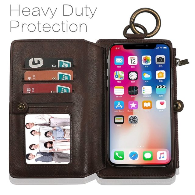 Musubo Brand Retro Leather Case for Samsung Note 8 Multi Functional 2 in 1 Wallet Back Cover for Galaxy S8 Plus S9 Plus S7 Cases