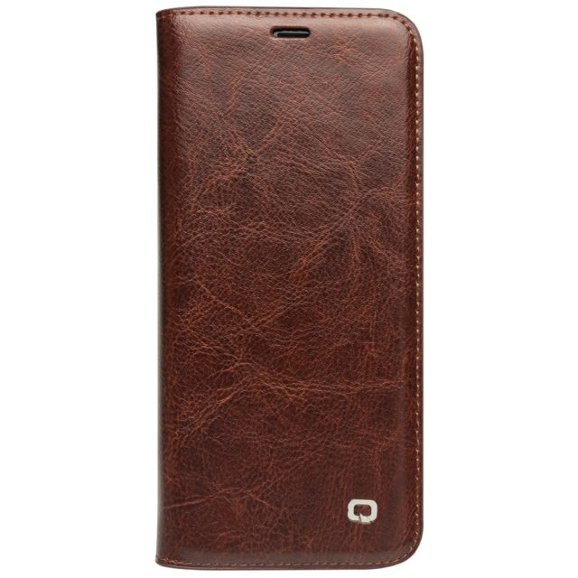 QIALINO Genuine Leather Flip Case for Samsung Galaxy S9 & S9 Plus