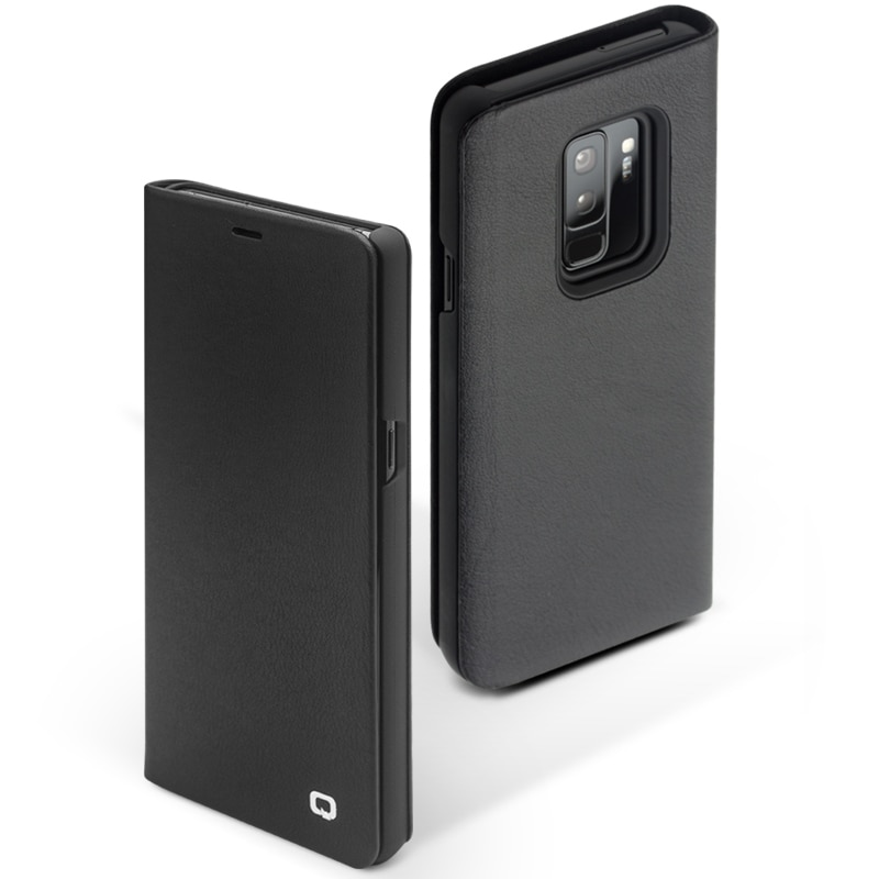 QIALINO Genuine Leather Flip Case for Samsung Galaxy S9/S9+ Plus