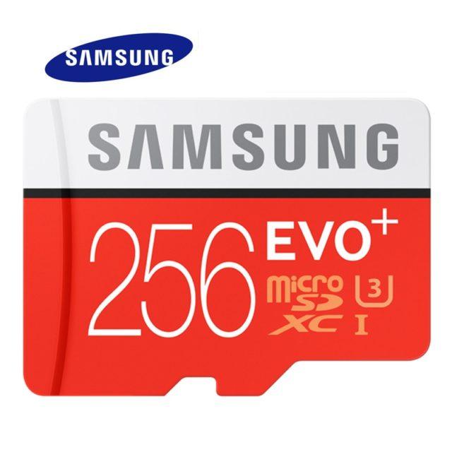 SAMSUNG Memory Card Micro SD EVO Plus Class 10 C10 UHS TF Cards