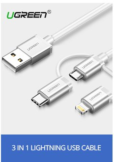 Ugreen For Apple MFi USB Cable For iPhone X Xs Max XR 2.A Lightning Fast USB Charging Data Cable for iPhone 8 7 6S Charger Cord